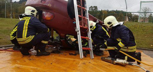 Ganztagsausbildung Feuerwehr Liepe