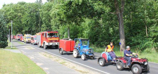 85 Jahre Feuerwehr Sandkrug-Neuehütte – mit Festumzug und Spaßwettkampf