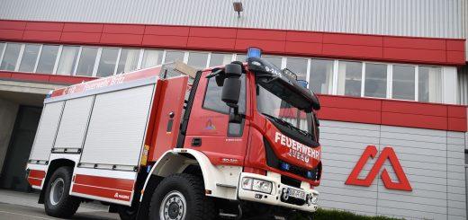 Neues TLF4000 in Dienst gestellt
